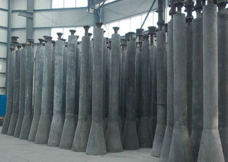 Metallurgical Industry Precast Refractory Shapes Hot Metal Pre Treatment Desulfurization Lance