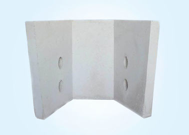 Slag Resistant Precast Refractory Shapes Slag Wall Low Thermal Conductivity For Tundish